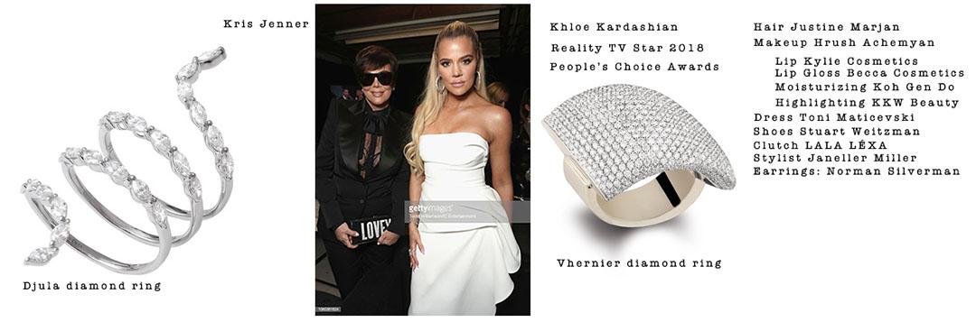 People's Choice Awards Khloe Kardashian Kris Jenner 4chion Lifestyle styling guide