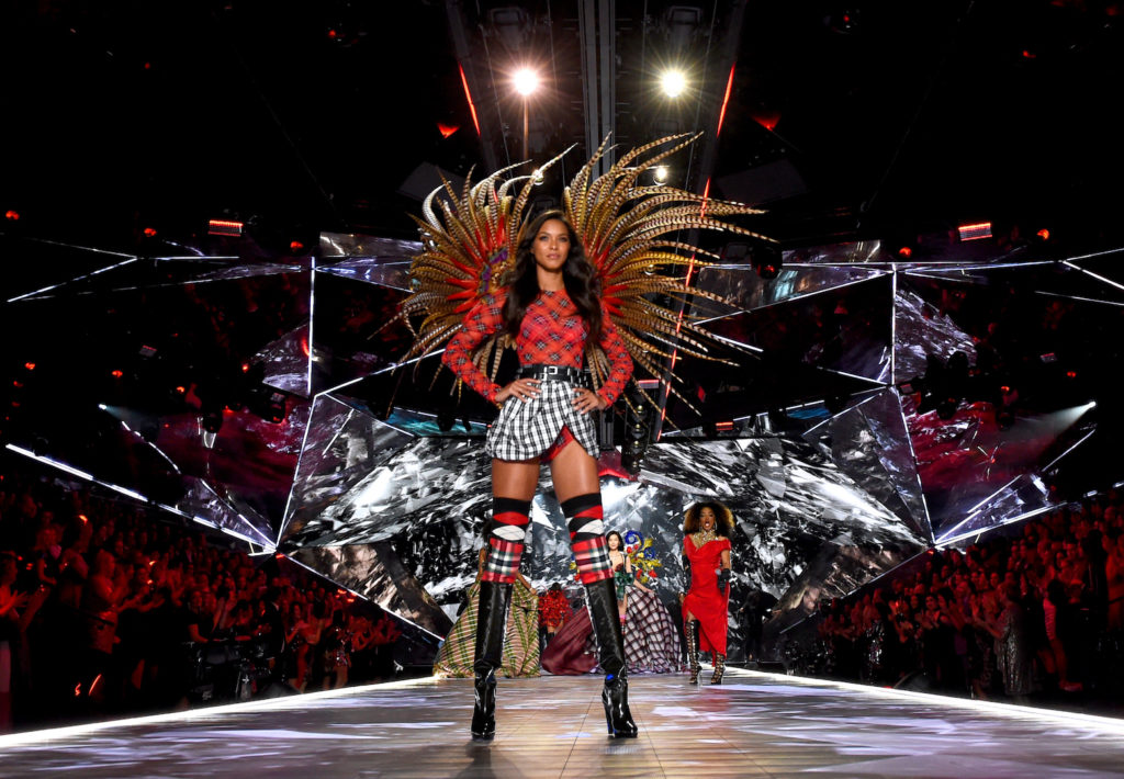 alks the runway during the 2018 Victoria's Secret Fashion Show at Pier 94 on November 8, 2018 in New York City.  (Photo by Dimitrios Kambouris/Getty Images for Victoria's Secret)