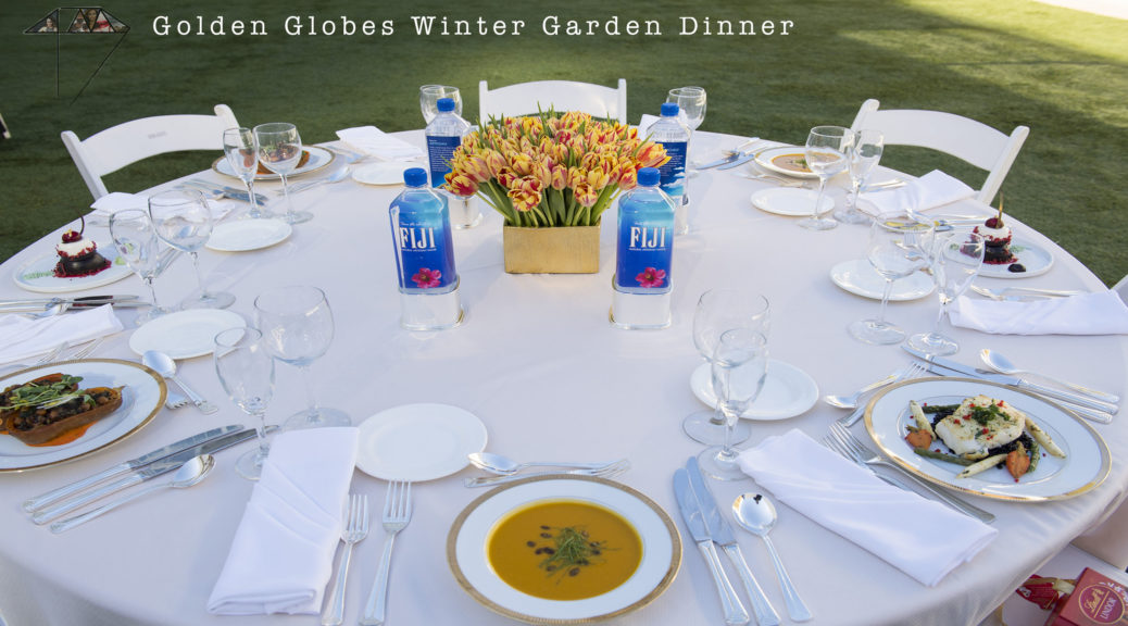 Menu for the 76th Annual Golden Globe Awards 4choiin lifestyle