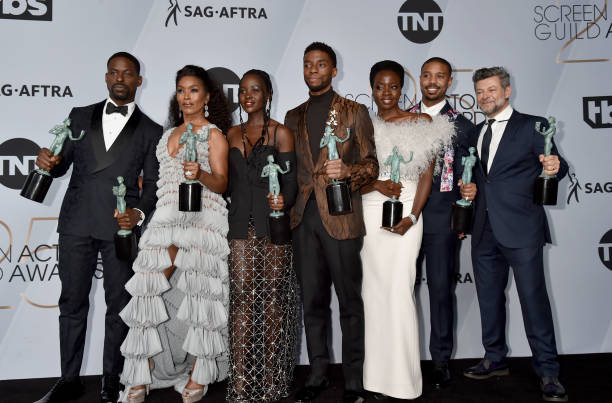 Black Panther SAG Awards 4chion lifestyle