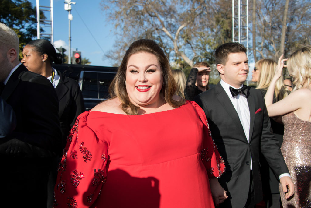Chrissy Metz Golden Globes 4chion Lifestyle Party