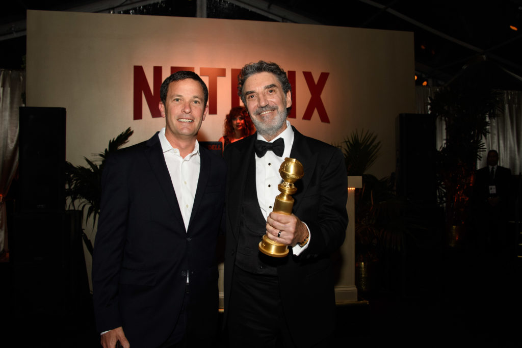 Chuck Lorre Golden Globes 4chion lifestyle