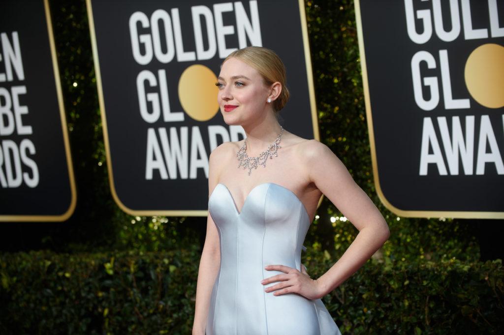 Dakota Fanning Golden Globes 4Chion Lifestyle Party