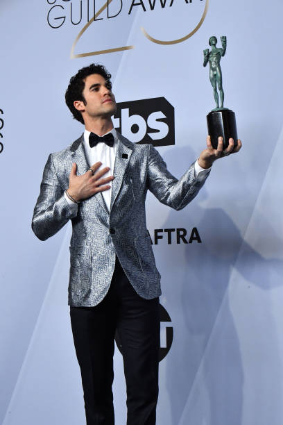 Darren Criss SAG Awards 4chion lifestyle