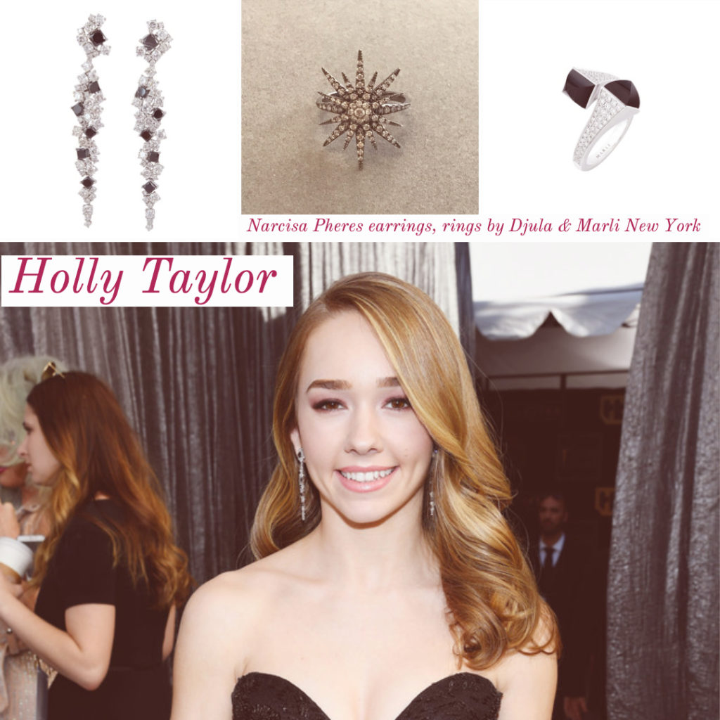 Holly Taylor SAG Awards Celebrity Style 4chion lifestyle