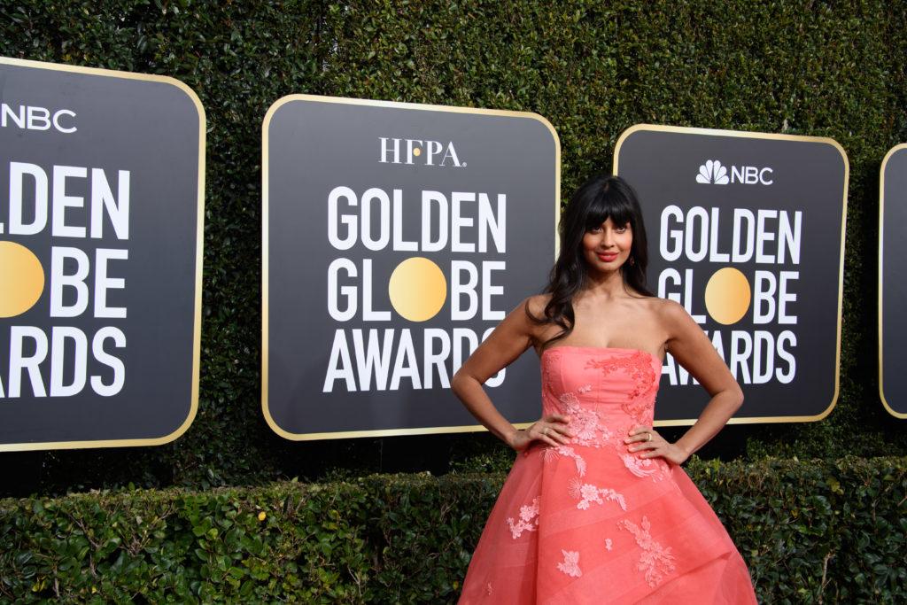 Jameela Jamil Hollywood Foreign Press Association Party