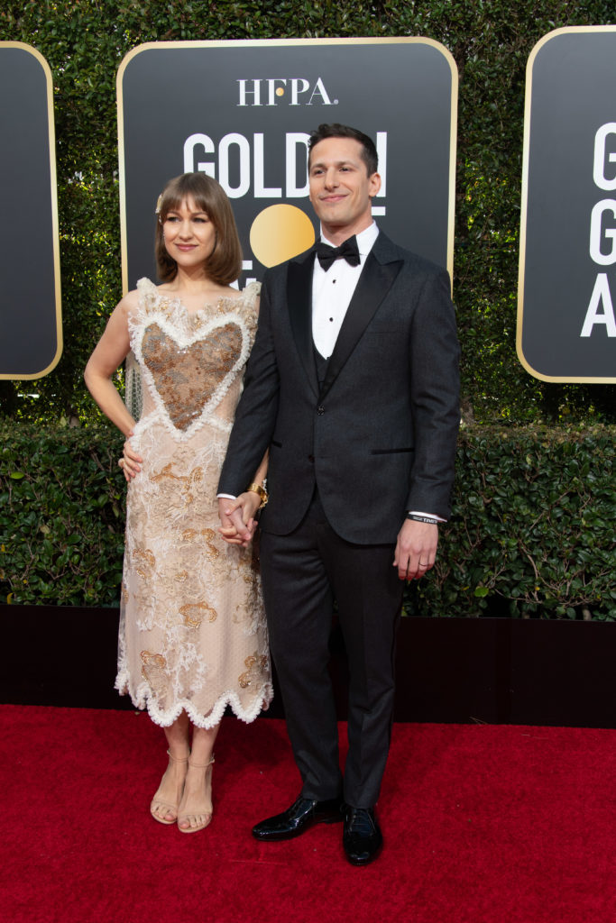 Joanna Newsom and Andy Samberg Golden GLobes 4Chion Lifestyle Party