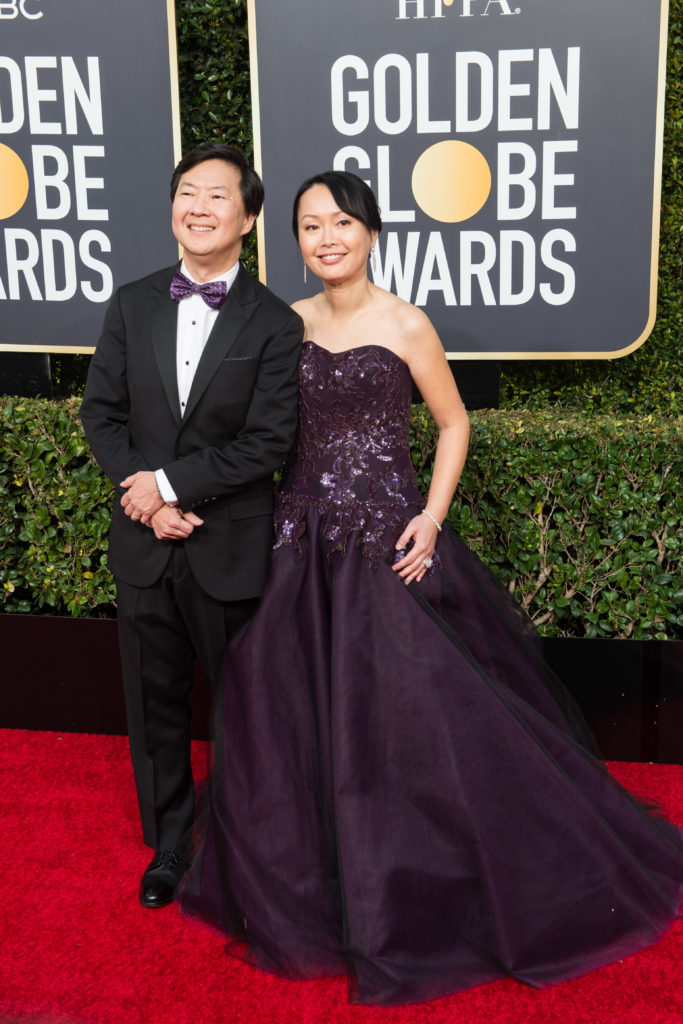 Ken Jeong and Tran Jeong Golden Globes 4chion Lifestyle Party