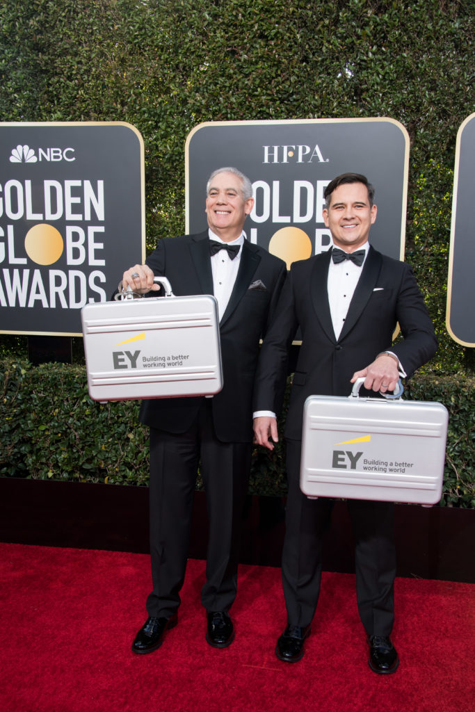 """Paul Chen and Andy Sale from """"EY"""" Golden Globes 4Chion Lifestyle Party"""