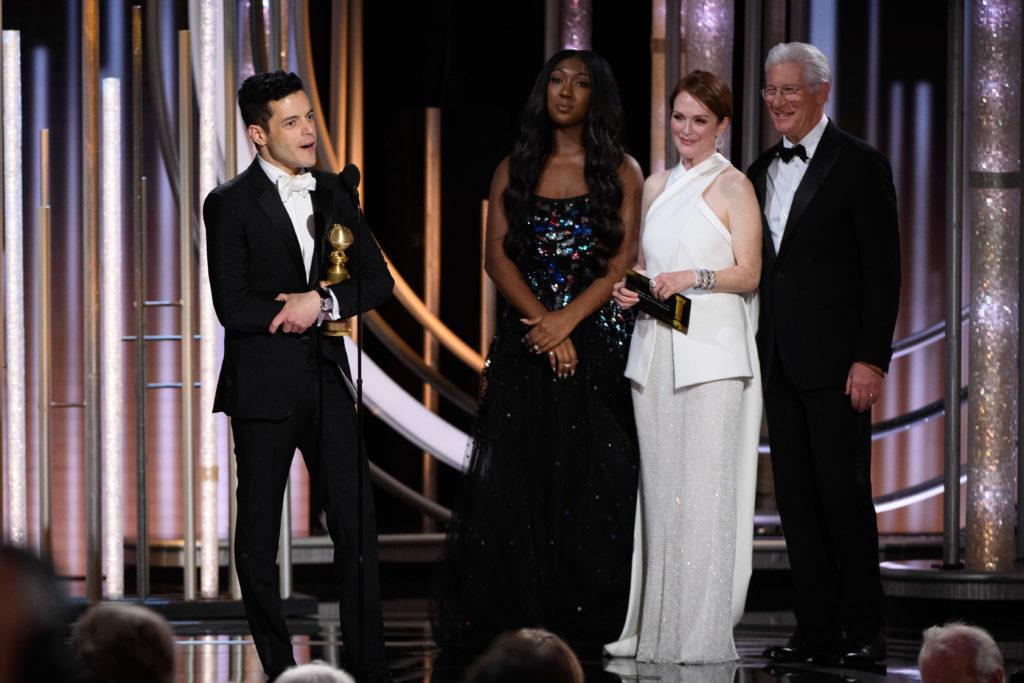Rami Malek Golden Globes 4chion lifesetyle