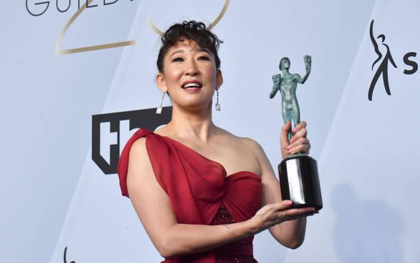 Sandra Oh SAG Awards 4chion Lifestyle