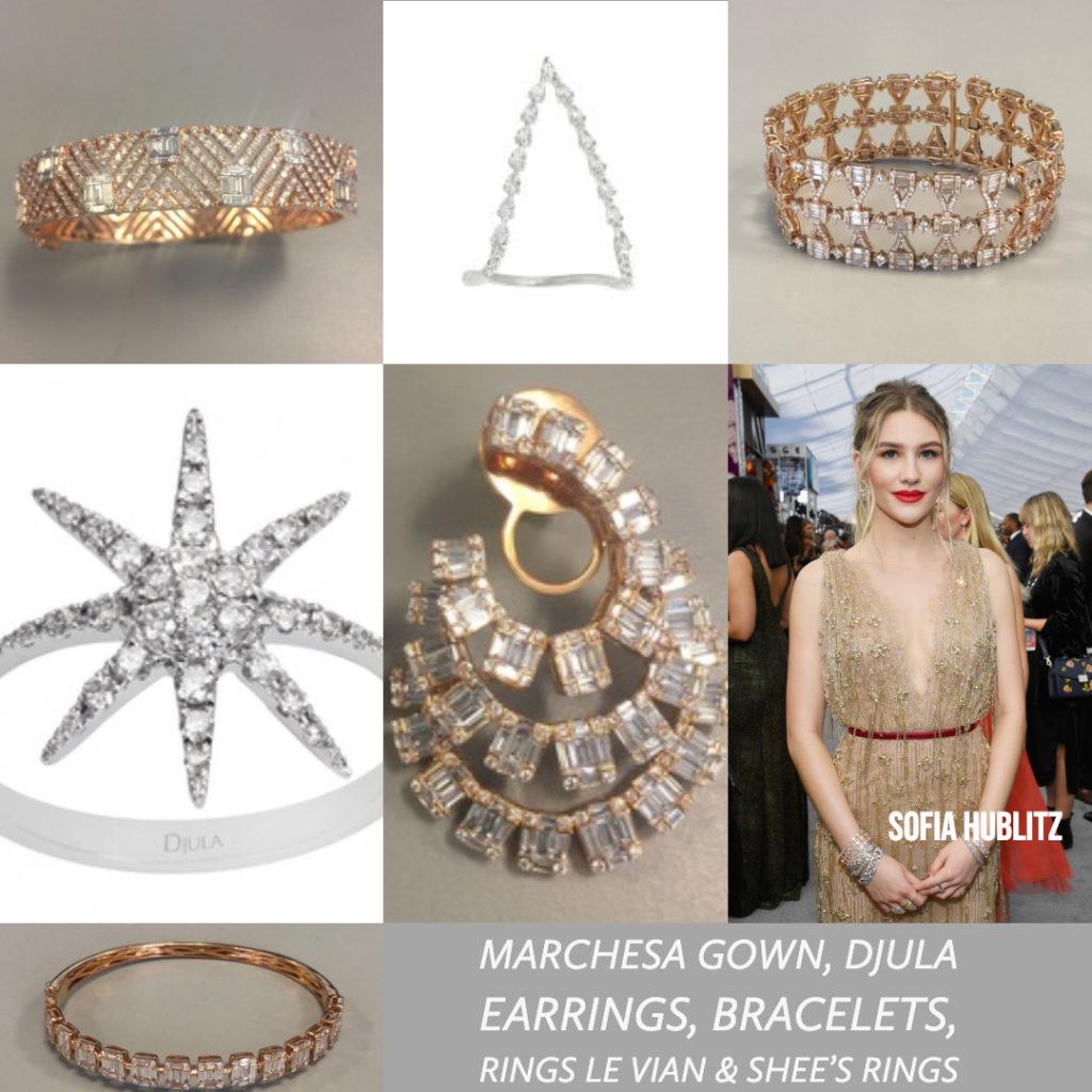 Sofia Hublitz celebrity styling SAG Awards 4chion lifestyle