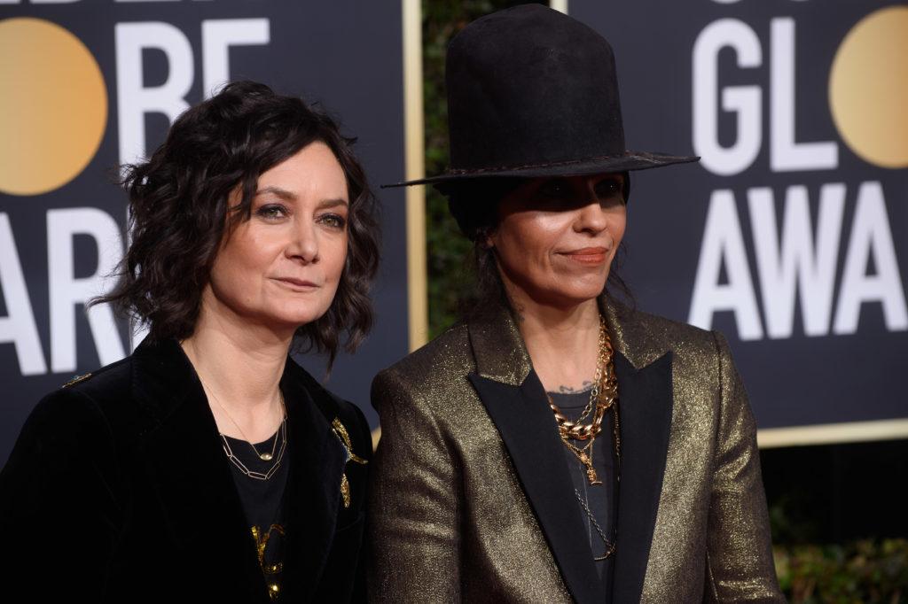 Sarah Gilbert and Linda Perry Golden Globes 4Chion Lifestyle