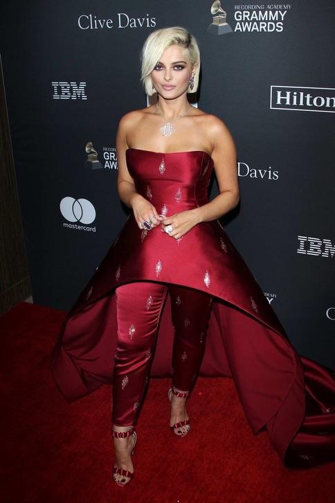 Bebe Rexha Clive Davis Grammy Party 4chion Lifestyle