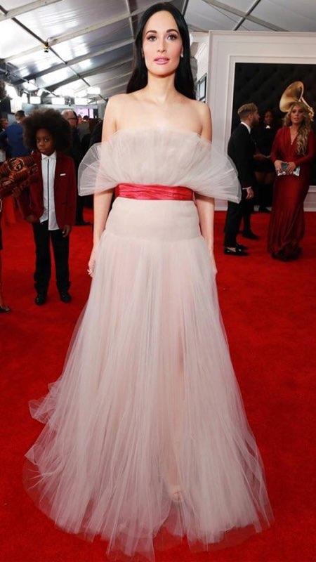 Kacey Musgraves Grammy Red Carpet Fashion