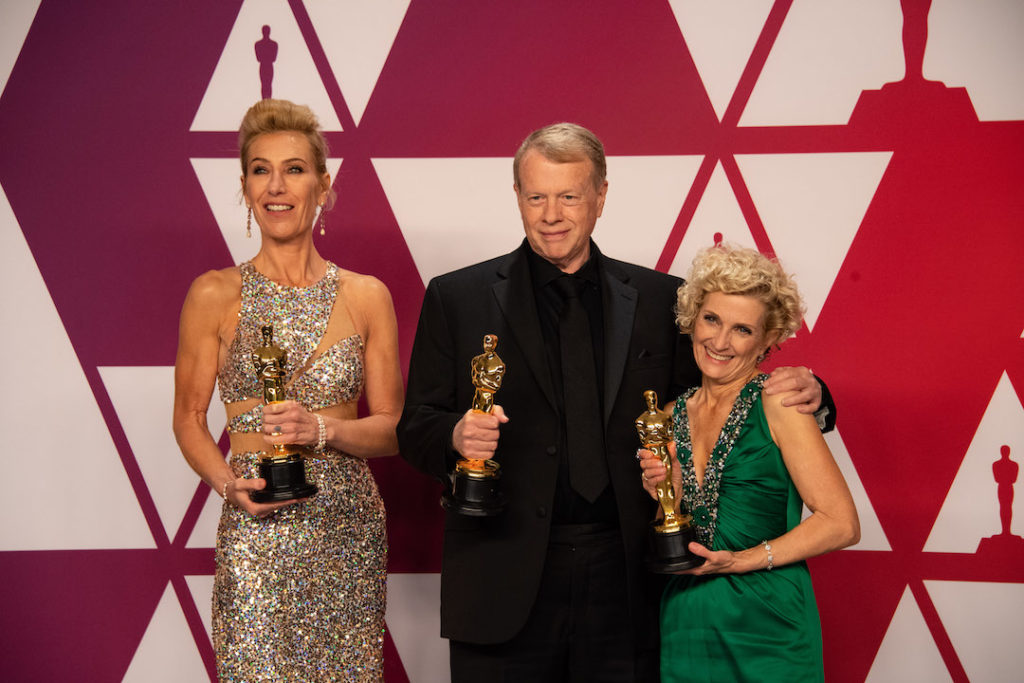 Kate Biscoe, Greg Cannom, and Patricia Dehaney Academy Awards 4chion Lifestyle
