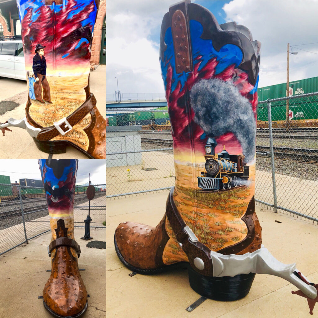 Cheyenne, Wyoming Road Trip Cowboy boots 4chion lifestyle a