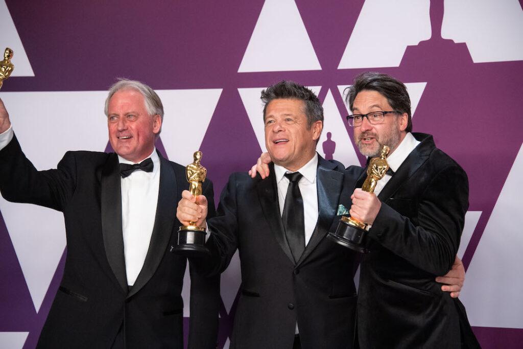 Tim Cavagin, Paul Massey, and John Casali 91st Oscars®, Academy Awards 4chion lifestyle
