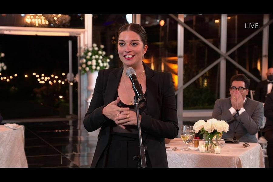 Anne Murphy Schitt's Creek Emmys® 4Chion Lifestyle Panemmies