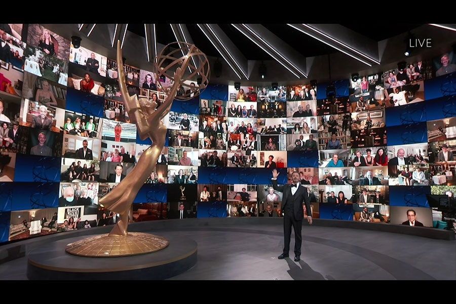 Host Jimmy Kimmel Emmys® 2020 4chion Lifestyle a