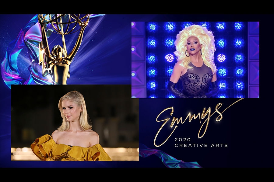 Rupaul Charles Outstanding Host for a reality 4Chion Lifestyle Emmys® Creative Arts Panemmies