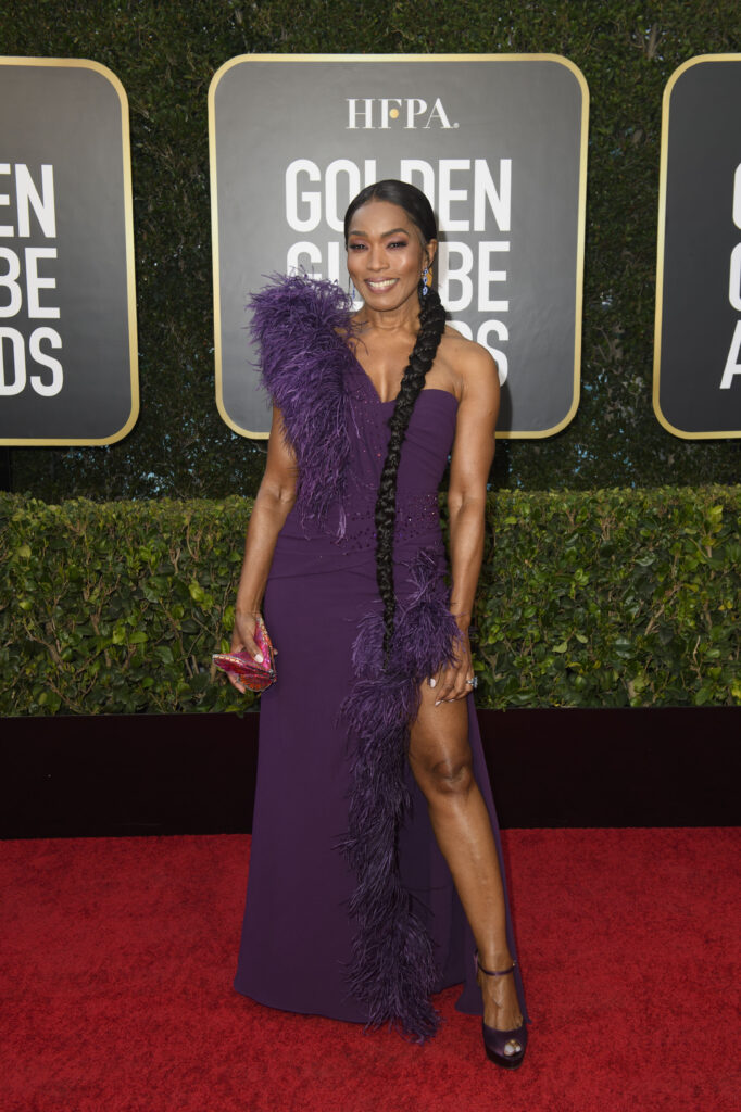 Angela Bassett Golden Globes 2021 4Chion Lifestyle