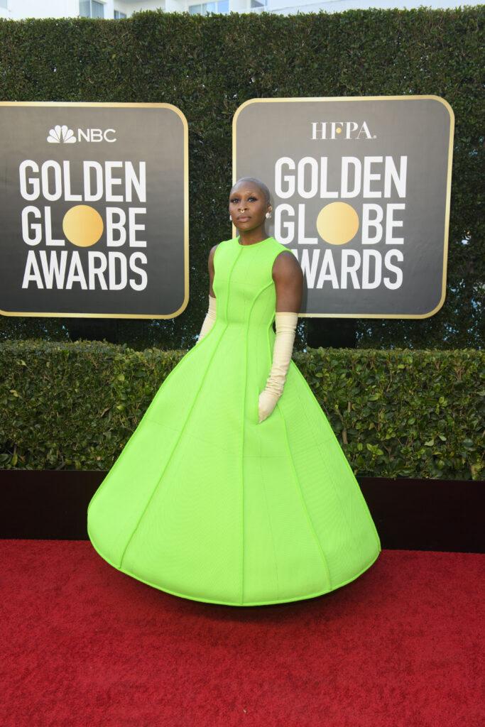 Cynthia Erivo Golden Globes 2021 4Chion Lifestyle