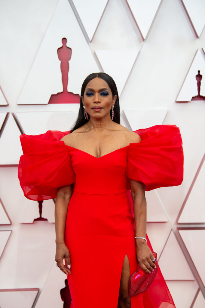 Angela Bassett at The Academy Awards red carpet 4Chion Lifestyle 93rd Oscars