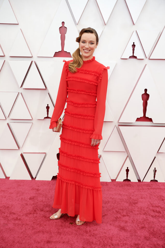 Ashley Fox at The Academy Awards red carpet 4Chion Lifestyle 93rd Oscars