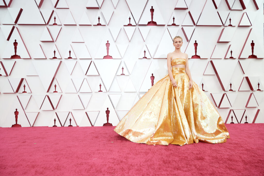 Carey Mulligan at The Academy Awards red carpet 4Chion Lifestyle 93rd Oscars