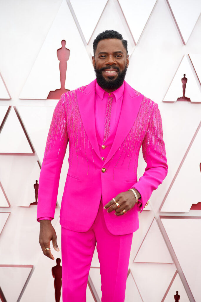 Colman Domingo at The Academy Awards red carpet 4Chion Lifestyle 93rd Oscars