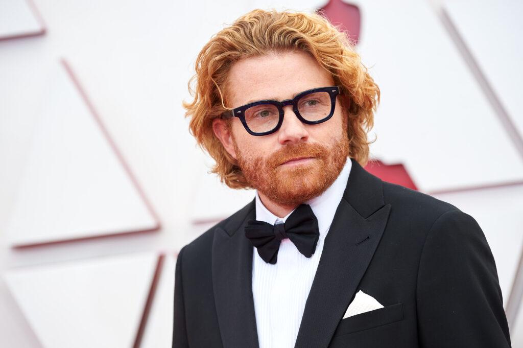 Erik Messerschmidt at The Academy Awards red carpet 4Chion Lifestyle 93rd Oscars