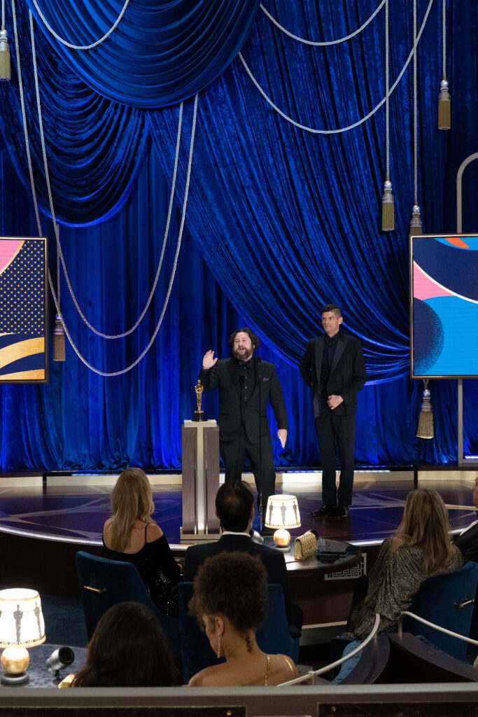 Michael Govier and Will McCormack at The Academy Awards 4Chion Lifestyle