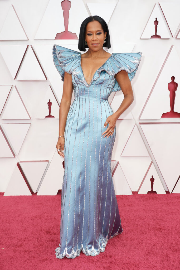 Regina King at The Academy Awards red carpet 4Chion Lifestyle 93rd Oscars