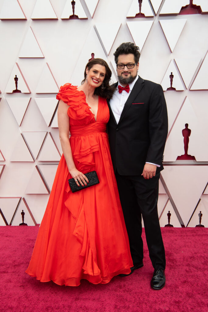 Will Berson at The Academy Awards red carpet 4Chion Lifestyle 93rd Oscars