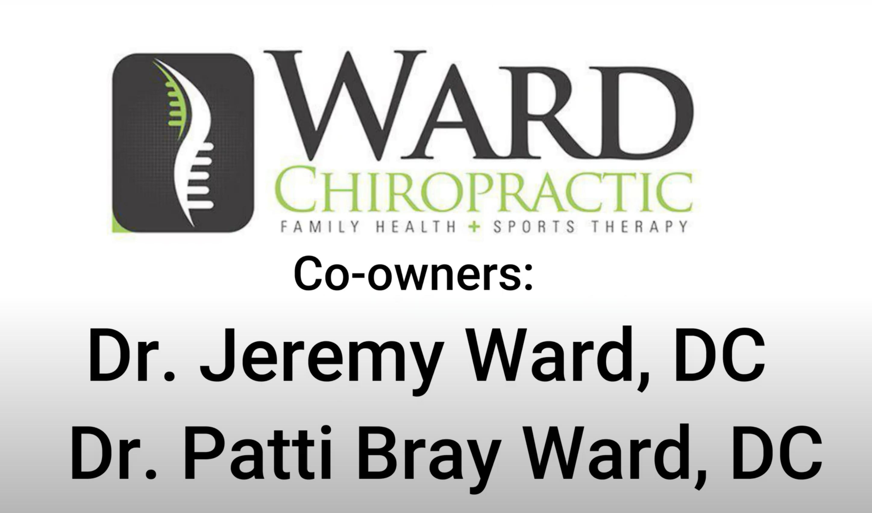 Meet your neighbor – Ward Chiropractic