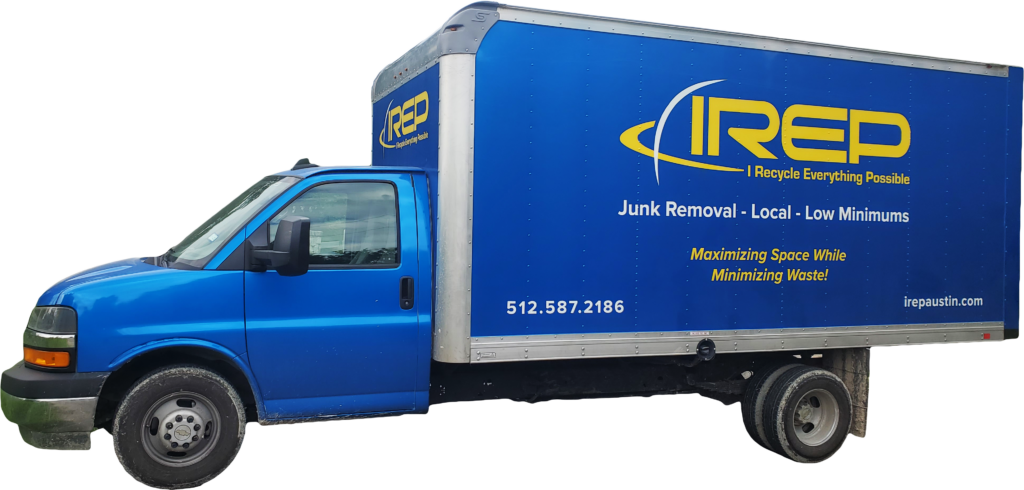 IREP Junk Removal Truck Austin Texas