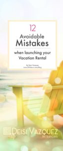 Launching a successful Vacation rental