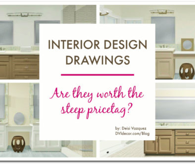 Interior Design drawings, are they worth the money?