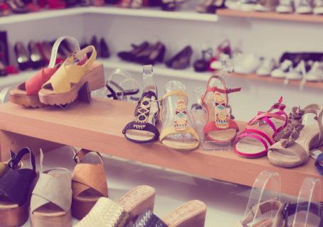 coleções de calçados