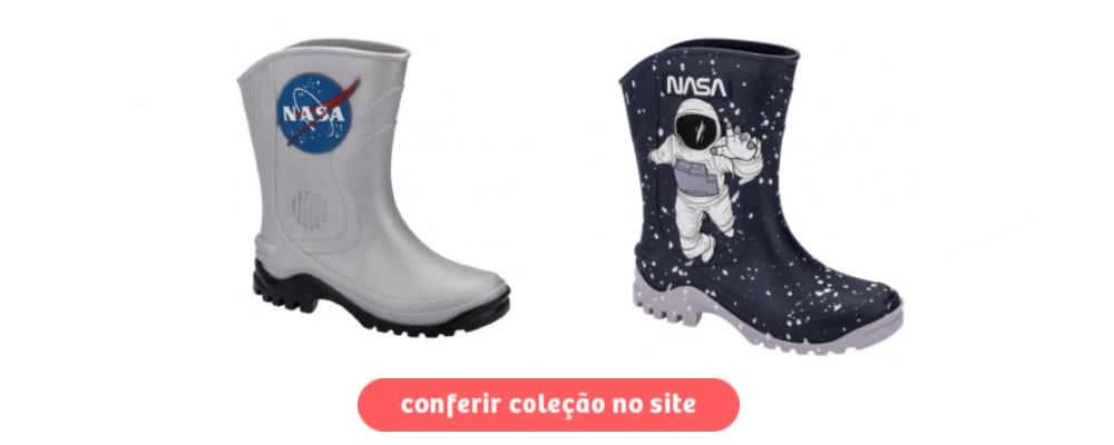 galocha infantil - NASA