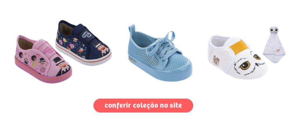 calçados de outono inverno - tênis baby