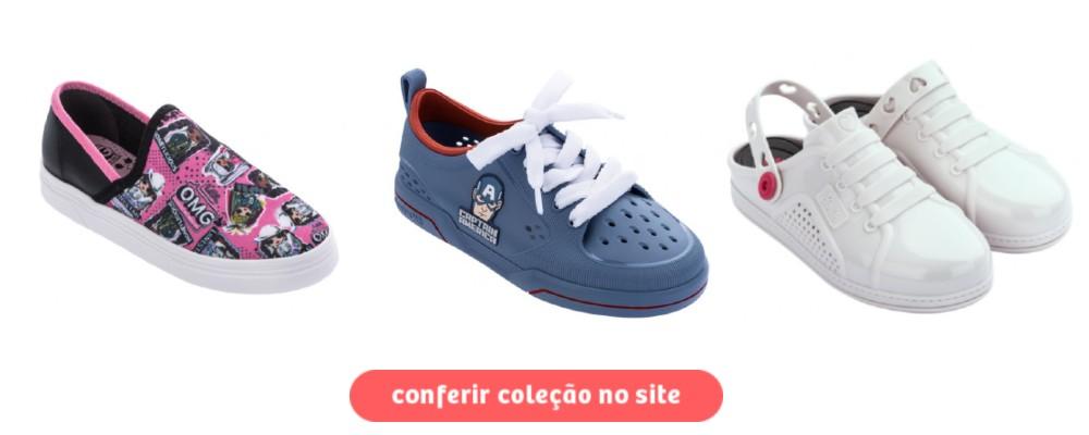 calçados de outono inverno - tênis infantil