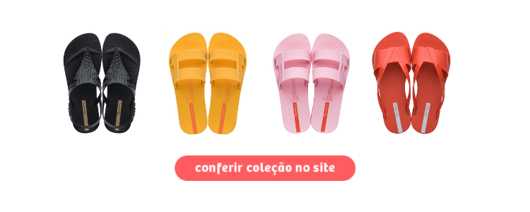 Acesse as sandálias da Ipanema para o verão 2020 no site da Daniel Atacado clicando na imagem.