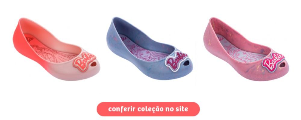calçados da barbie - sapatilhas