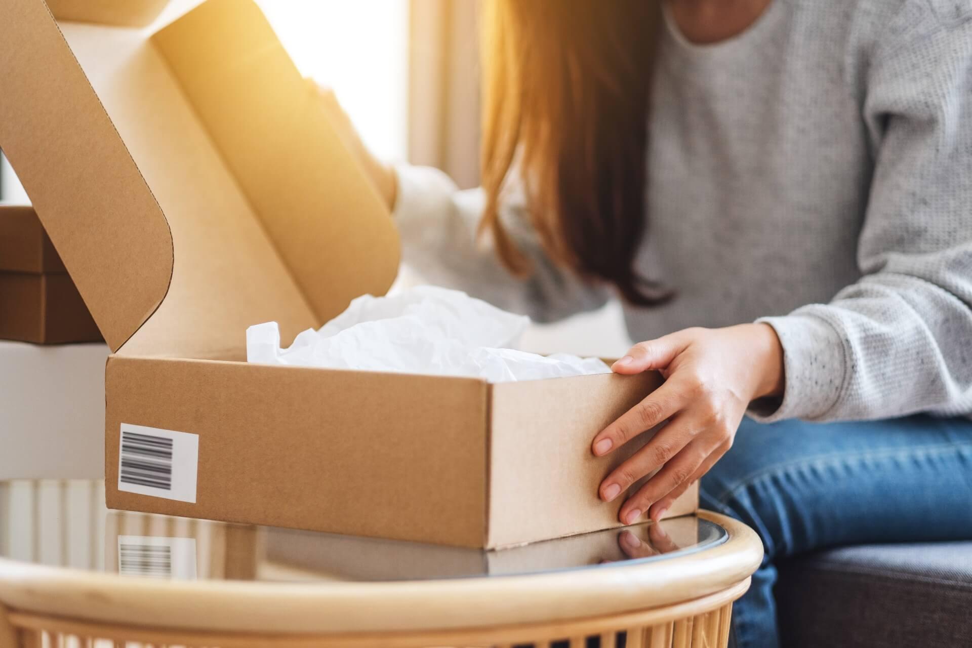vendendo online: cuidado com as embalagens