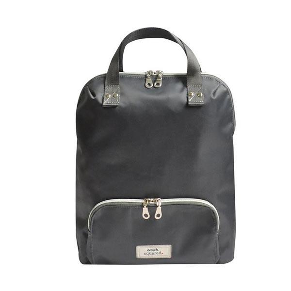 Brushed Canvas Grey Backpack