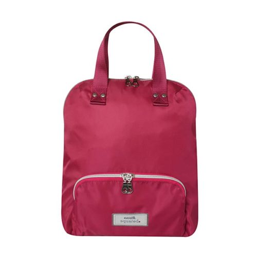 Brushed Canvas Voyage Small Pink Backpack