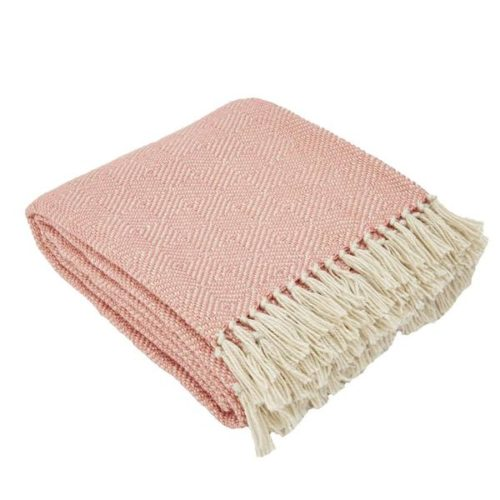 Coral Recycled Plastic Bottle Blanket