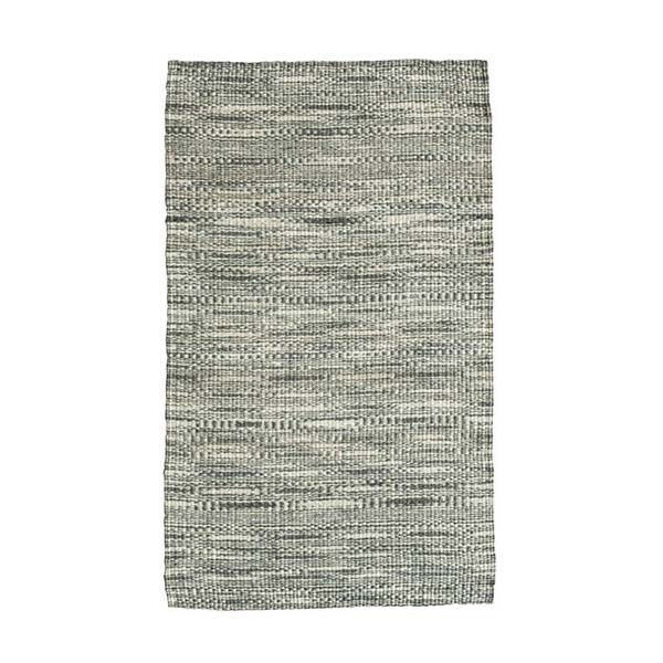 Grey & White Kenyan Sisal Floor Rug